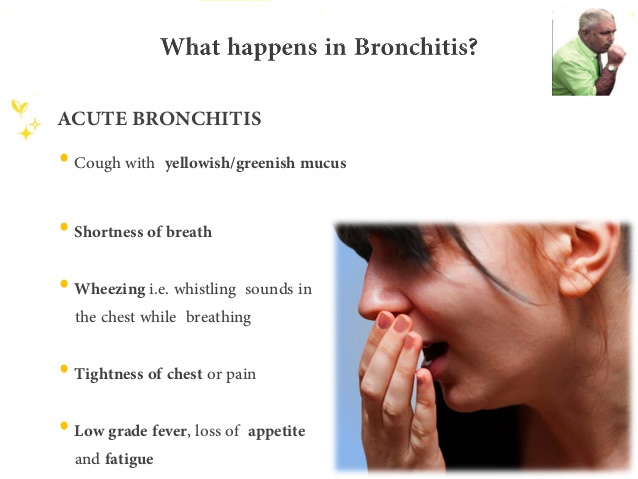 an analysis of the main symptoms and treatment in acute and chronic bronchitis Learn more about chronic obstructive pulmonary disease at aspen medical acute exacerbation of symptoms in the long-term treatment of chronic bronchitis.