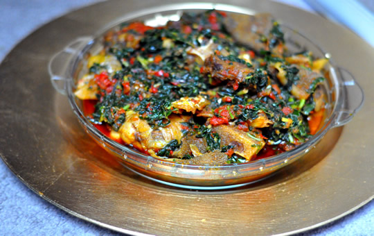 how to cook nigerian vegetable sauce