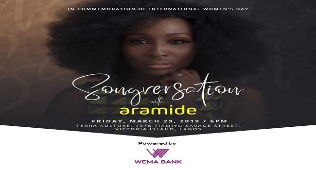 Promoting Women Development: WEMA Bank Collaborates With Afro-Soul Queen, Aramide