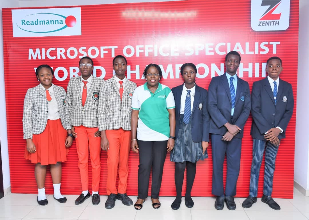 Winners emerge in the Zenith Bank sponsored 2019 Microsoft Office Specialist World Championship Qualification