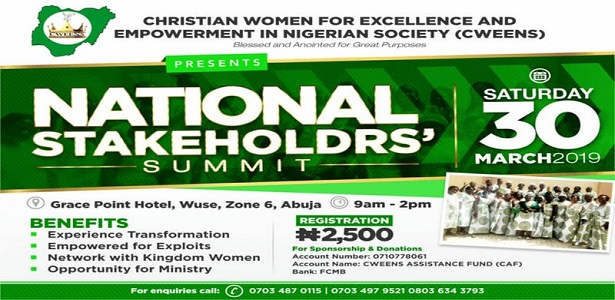 Christian Women For Excellence and Empowerment In Nigerian Society